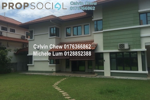 For Sale Semi-Detached at The Peak, Cheras South Freehold Semi Furnished 5R/4B 2.8百万