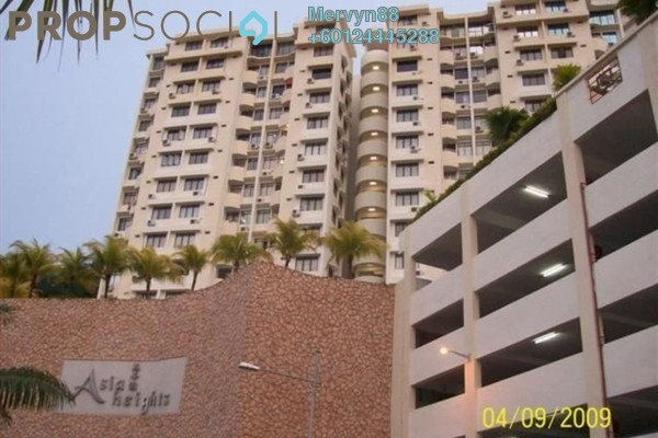 For Sale Condominium at Asia Heights, Farlim Freehold Semi Furnished 3R/2B 350k