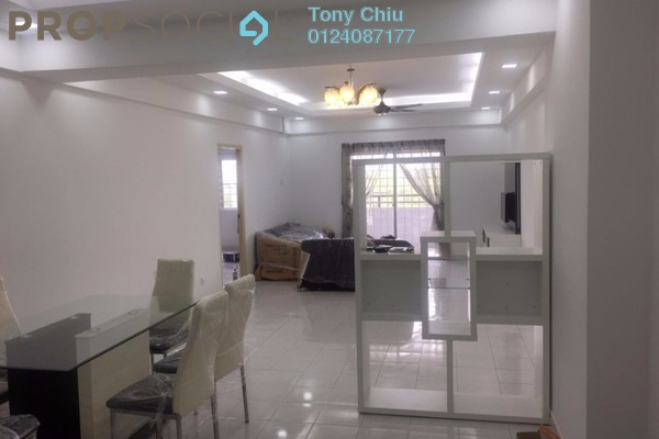 For Rent Condominium at Endah Ria, Sri Petaling Leasehold Fully Furnished 3R/2B 2.2k