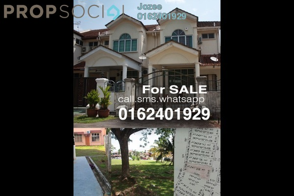 For Sale Terrace at Taman Bukit Baru, Bukit Beruang Freehold Unfurnished 4R/3B 397k