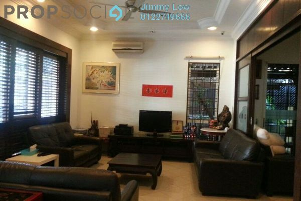 For Sale Semi-Detached at Taman Bukit Segar, Cheras Freehold Fully Furnished 5R/5B 2.2m