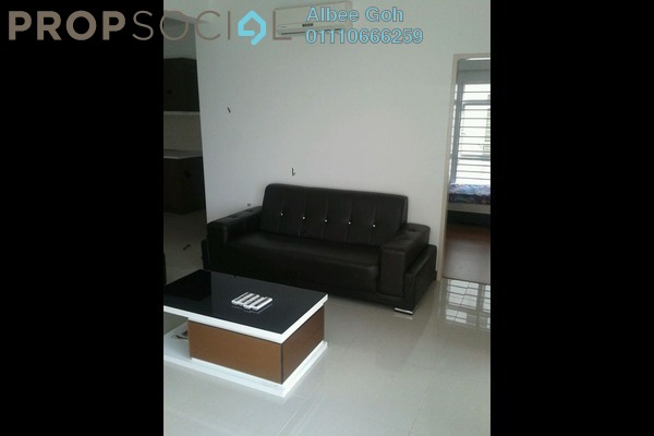 For Sale Condominium at 1 Desa Residence, Taman Desa Freehold Semi Furnished 4R/2B 650k