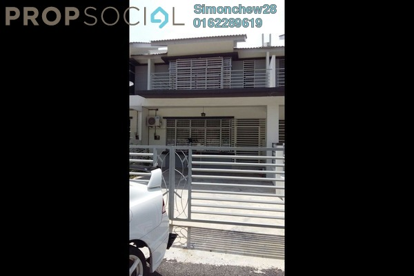 For Sale Terrace at Bandar Baru Salak Tinggi, Sepang Freehold Fully Furnished 5R/3B 550.0千