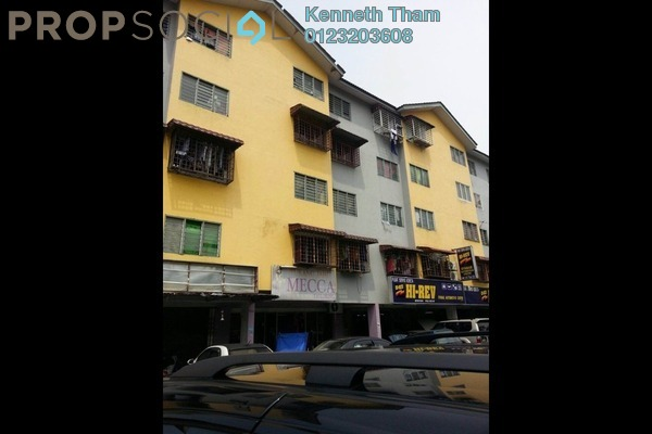 For Sale Apartment at Taman Kajang Putra, Kajang Freehold Semi Furnished 3R/1B 155k