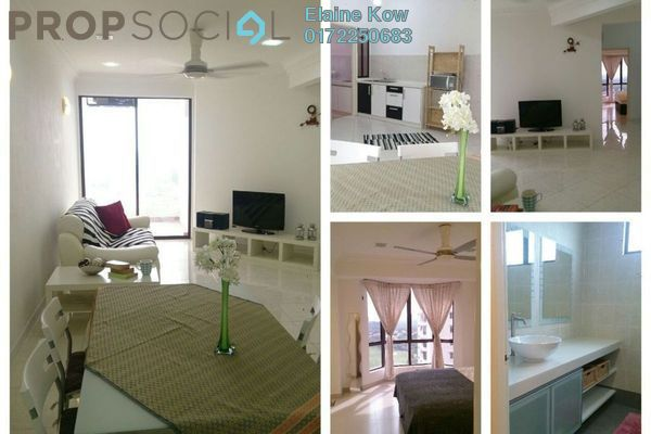 For Rent Condominium at Casa Tropicana, Tropicana Leasehold Semi Furnished 2R/2B 1.9k
