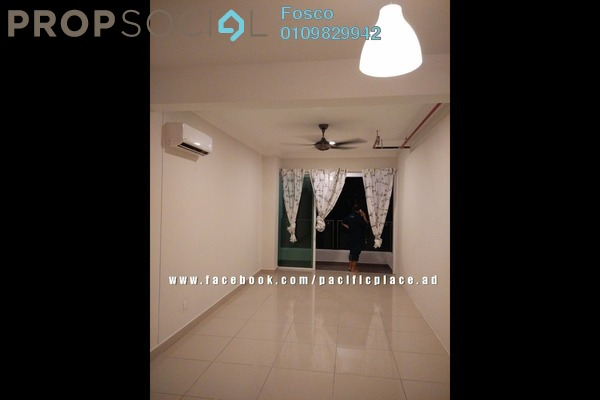 For Rent SoHo/Studio at Pacific Place, Ara Damansara Leasehold Unfurnished 0R/1B 1.1k