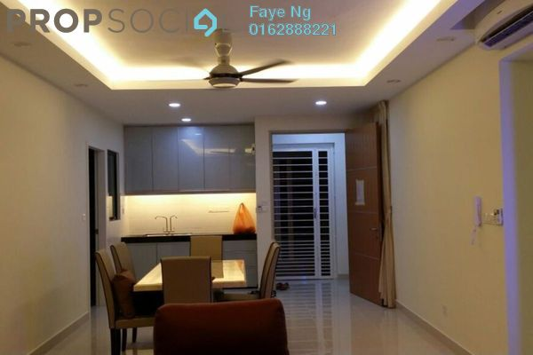 For Sale Condominium at The Z Residence, Bukit Jalil Freehold Fully Furnished 3R/2B 860k