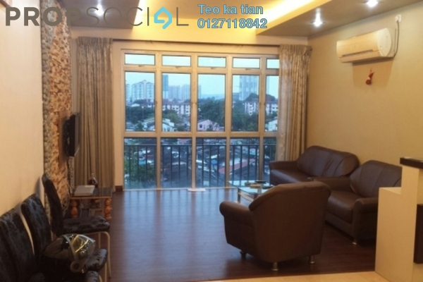 For Rent Serviced Residence at Taman Skudai Baru, Skudai Leasehold Fully Furnished 3R/2B 2k