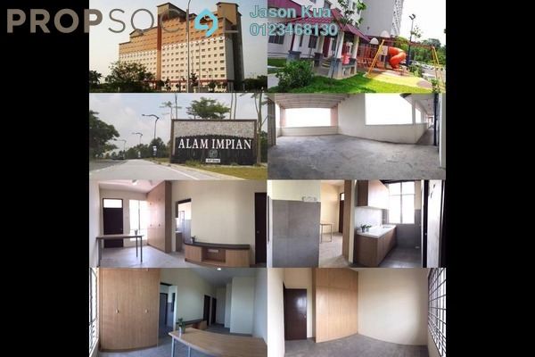 For Rent Condominium at Tun Teja 1 Apartment, Shah Alam Freehold Semi Furnished 3R/2B 899translationmissing:en.pricing.unit