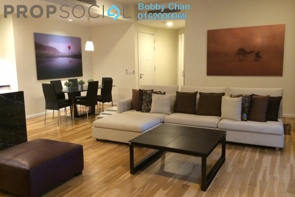 For Rent Condominium at St Mary Residences, KLCC Freehold Fully Furnished 3R/2B 7k