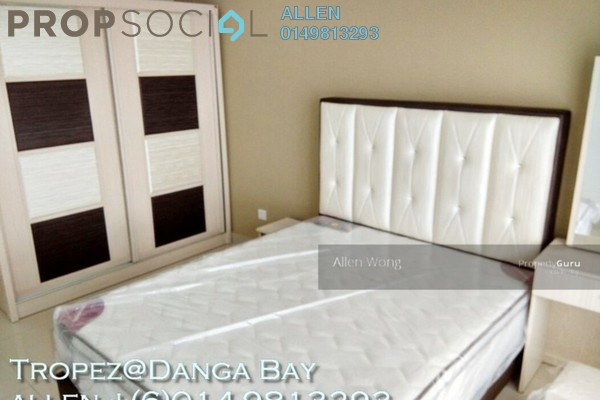For Rent Serviced Residence at Tropez Residences, Danga Bay Freehold Fully Furnished 2R/2B 2.7k