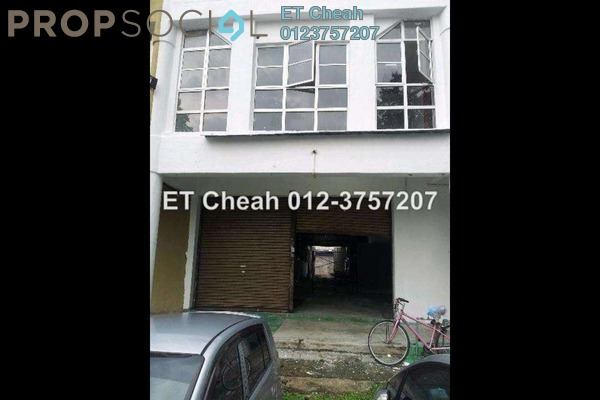 For Rent Terrace at Axis Industrial Park, Kota Kemuning Freehold Unfurnished 0R/2B 4.2k