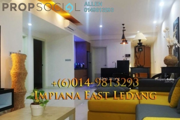 For Rent Condominium at Impiana Residences, Iskandar Puteri (Nusajaya) Freehold Fully Furnished 2R/2B 2.5k