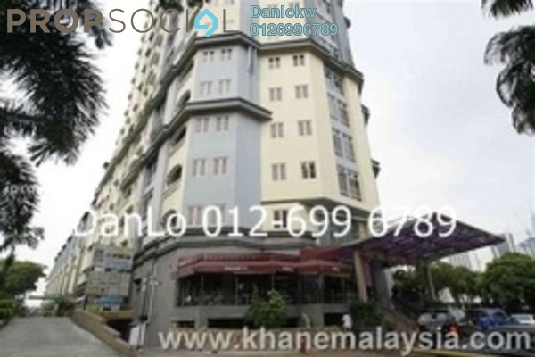For Sale Condominium at D-Villa Residence, Ampang Hilir Freehold Fully Furnished 3R/2B 1.05m