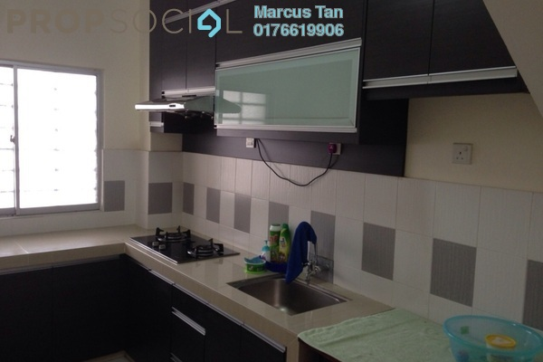 For Rent Townhouse at Amansiara, Selayang Leasehold Semi Furnished 3R/2B 1.1k