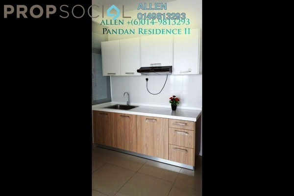 For Rent Serviced Residence at Pandan Ria Apartment, Ampang Leasehold Fully Furnished 1R/1B 1.5k