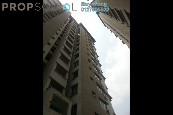 For Rent Serviced Residence at Casa Tiara, Subang Jaya Freehold Fully Furnished 0R/1B 1.75k
