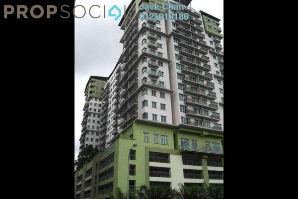 For Rent Serviced Residence at e-Tiara, Subang Jaya Freehold Fully Furnished 2R/2B 2.2k