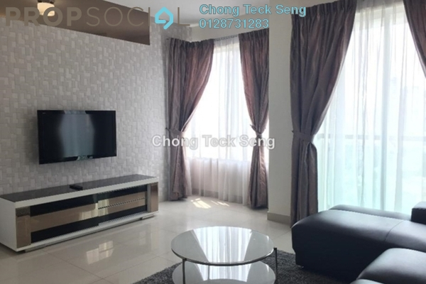 For Rent Serviced Residence at Solaris Dutamas, Dutamas Freehold Fully Furnished 1R/1B 2.7k