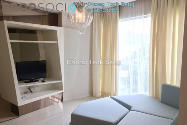 For Rent Serviced Residence at VERVE Suites, Mont Kiara Freehold Fully Furnished 1R/1B 3.3k