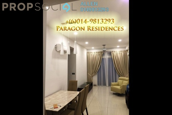 For Rent Condominium at Paragon Residences @ Straits View, Johor Bahru Freehold Fully Furnished 3R/2B 3.99k