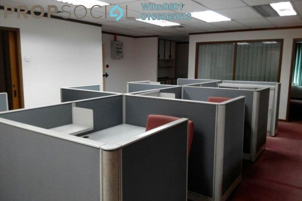 For Rent Office at Megan Avenue 1, KLCC Freehold Semi Furnished 7R/0B 10k