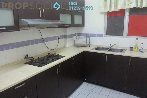 For Rent Condominium at Cyberia Crescent 2, Cyberjaya Freehold Fully Furnished 3R/2B 1.6k