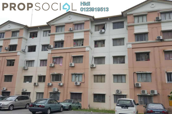 For Sale Apartment at Taman Puchong Indah, Puchong Leasehold Semi Furnished 3R/2B 78k