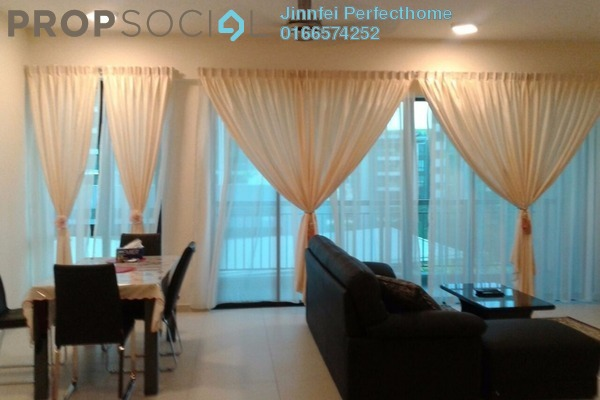 For Rent Condominium at Serin Residency, Cyberjaya Freehold Fully Furnished 3R/2B 2.5Ribu