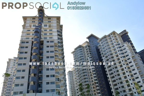 For Sale Condominium at Maisson, Ara Damansara Freehold Semi Furnished 3R/3B 820k