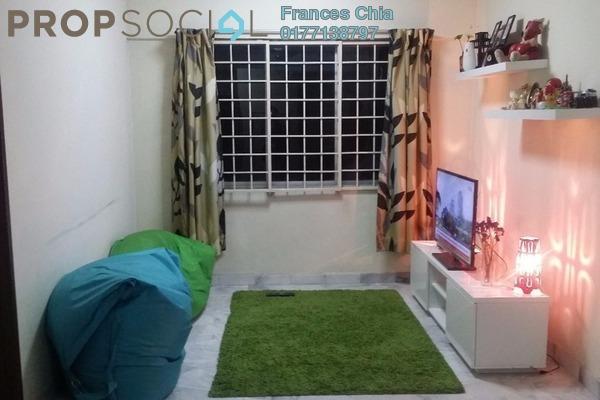 For Sale Apartment at Iris Apartment, Taman Desa Leasehold Semi Furnished 2R/1B 236k