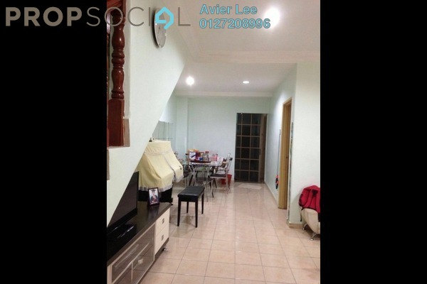 For Sale Terrace at Taman Hui Aun, Air Itam Freehold Unfurnished 3R/2B 340k