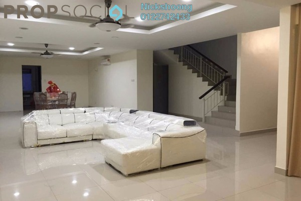 For Sale Bungalow at Grandville, UEP Subang Jaya Leasehold Fully Furnished 6R/8B 3.8m
