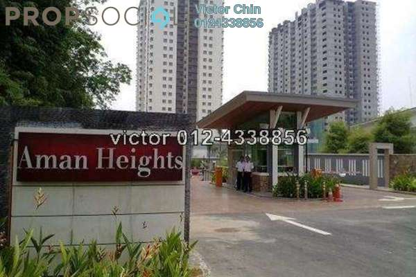 For Sale Condominium at Aman Heights, Seri Kembangan Freehold Semi Furnished 3R/2B 450k