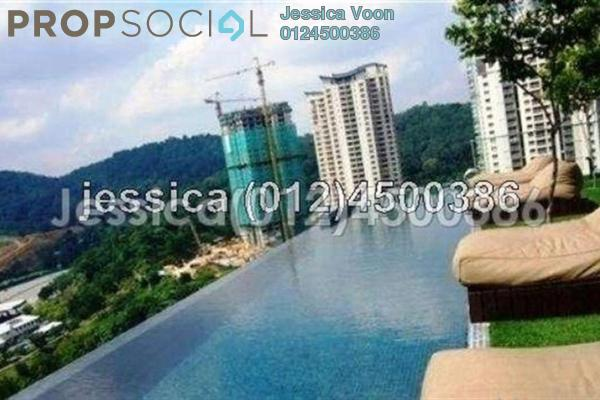 For Rent Apartment at VERVE Suites, Mont Kiara Freehold Fully Furnished 1R/1B 3k