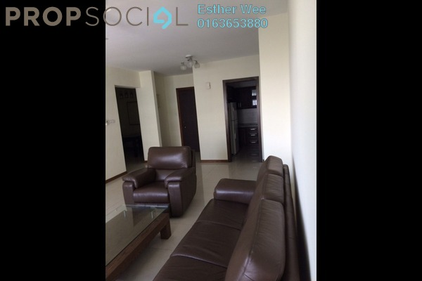 For Rent Condominium at Saujana Residency, Subang Jaya Freehold Semi Furnished 2R/2B 3.7k