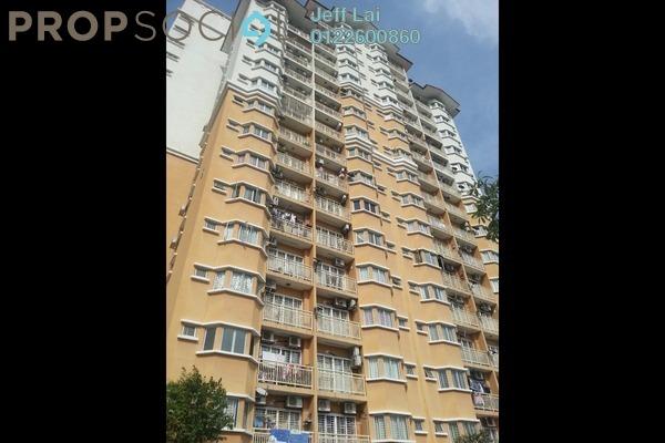 For Rent Condominium at Puteri Bayu, Bandar Puteri Puchong Freehold Semi Furnished 3R/2B 1.2k