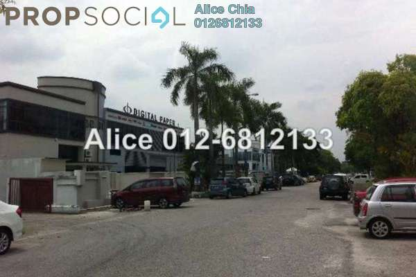 For Rent Factory at Temasya Industrial Park, Temasya Glenmarie Freehold Semi Furnished 0R/0B 35k