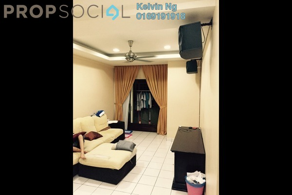For Rent Condominium at Fortune Avenue, Kepong Leasehold Semi Furnished 3R/2B 1.6k