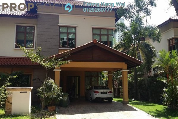 For Rent Semi-Detached at Duta Nusantara, Dutamas Freehold Semi Furnished 5R/4B 14k