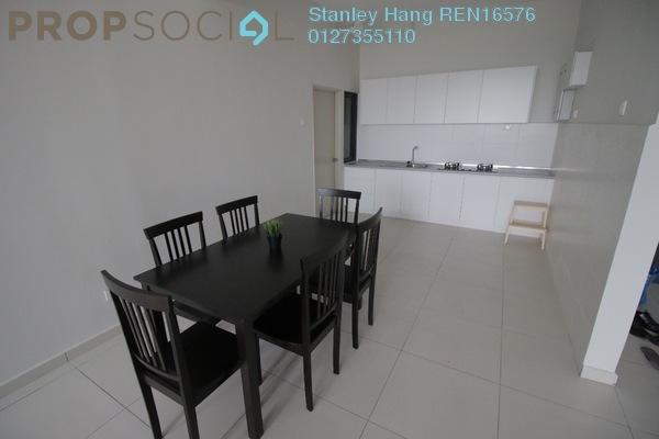 For Rent Condominium at Zefer Hill Residence, Bandar Puchong Jaya Freehold Semi Furnished 3R/2B 1.7k