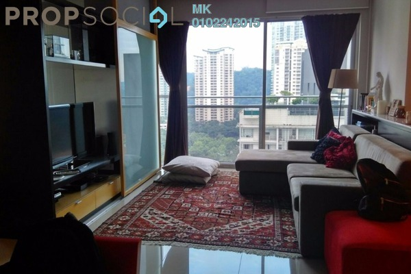For Rent Condominium at VERVE Suites, Mont Kiara Freehold Fully Furnished 1R/1B 3.5k