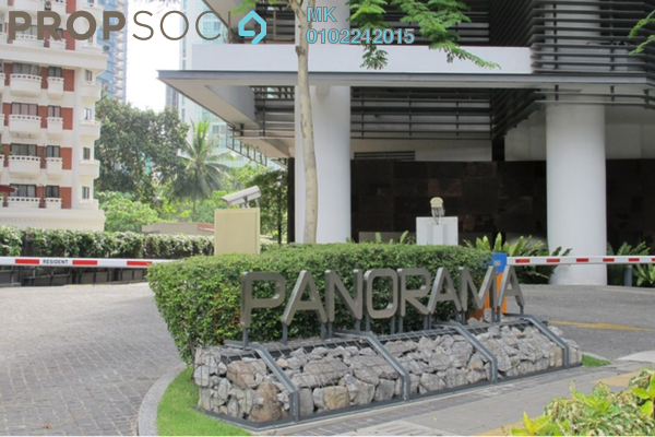 For Rent Condominium at Panorama, KLCC Freehold Fully Furnished 3R/1B 9k