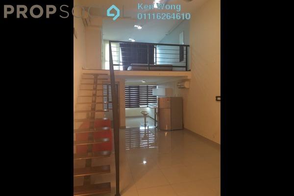 For Rent Duplex at Subang SoHo, Subang Jaya Freehold Fully Furnished 1R/1B 1.6k