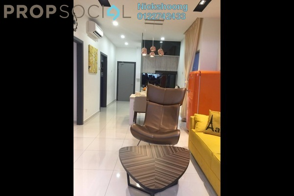 For Sale Condominium at The Edge Residen, Subang Jaya Leasehold Semi Furnished 2R/2B 486k