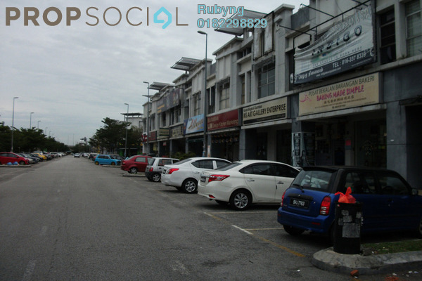 For Sale Shop at Kemuning Utama Commercial Centre, Kemuning Utama Freehold Semi Furnished 0R/0B 3.8m