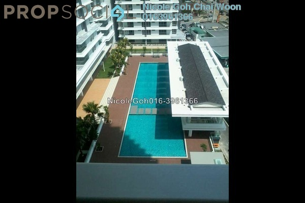 For Sale Condominium at Platinum Hill PV2, Setapak Freehold Semi Furnished 3R/2B 650k