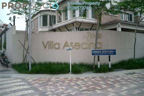 For Sale Link at Villa Aseana, Mont Kiara Freehold Semi Furnished 5R/5B 3.5m
