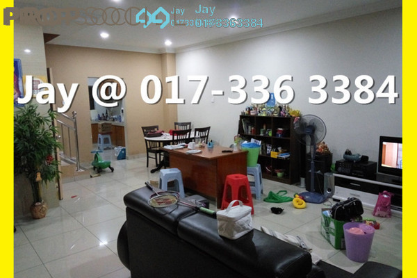 For Rent Terrace at Taman Sri Putra, Sungai Buloh Freehold Semi Furnished 4R/2B 1.5k