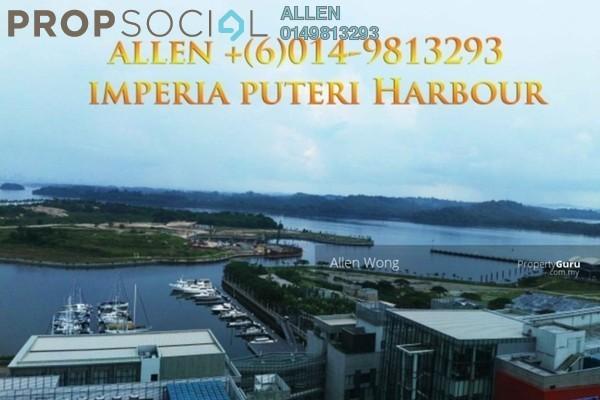 For Sale Condominium at Imperia, Puteri Harbour Freehold Semi Furnished 1R/1B 975k
